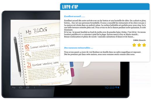 Vous pouvez ajouter un blog ou un livre d'or à votre site E-commerce afin d'échanger efficacement à vos clients