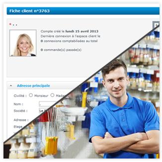 Shop Application vous permet de gérer les internautes de votre site E-commerce, mais aussi de gérer les clients de votre magasin physique, en couplant votre boutique en ligne, à notre logiciel de caisse Shop Application